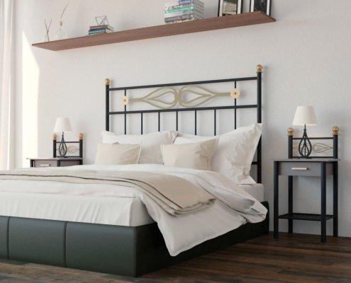 Dormitorios Forja Cruz Cuenca